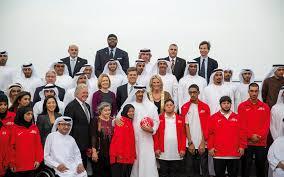 رؤساء الوفد المشاركة يشيدون بتحضرات الالعاب الاقليمية التاسعه للاولمبياد الخاص بابوظبي