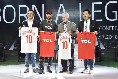  نيمار  يطلق حملة تي سي أل الرياضية العالمية 2018