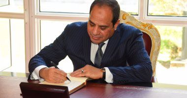 """السيسي يصدق على قانون """"مرتبات الوزراء ورئيسى مجلسى النواب والحكومة"""