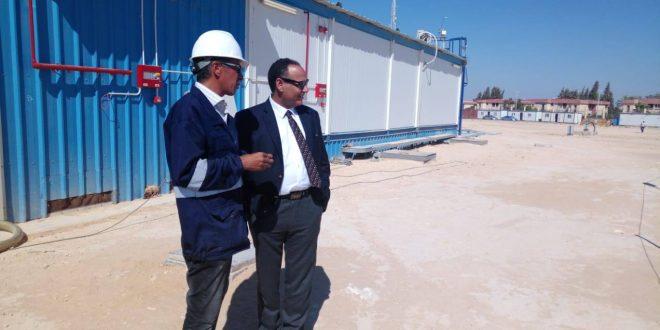 اليوم: رئيس أكاديمية البحث العلمي يتابع سير العمل بمحطة الطاقة الشمسية ببرج العرب