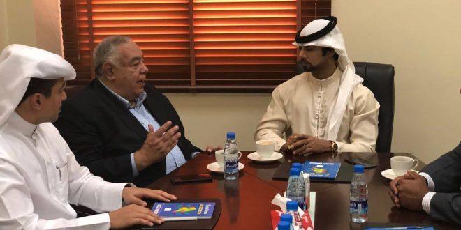"""""""فهيم """" يعلن تؤامة رياضية بين إلاتحاد المصري لكمال الأجسام والاتحاد البحريني"""