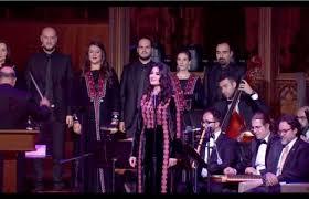 زين عوض تغني في واشنطن بحضور ملك الأردن