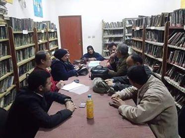 اكتشاف المواهب الأدبية محاضرة بثقافة المنوفية