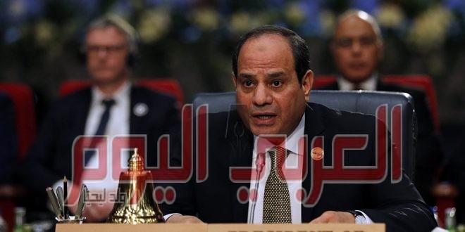 تفاصيل مكالمة هاتفية بين رئيس وزراء العراق والسيسي