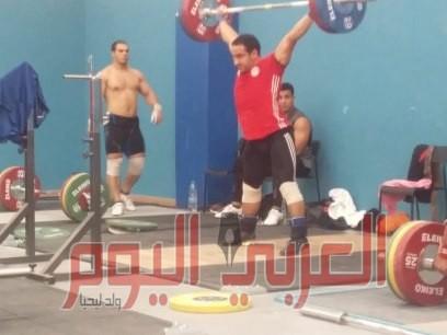 منتخب مصر رفع الأثقال يواصل التدريبات بالرباط استعدادا لدورة الألعاب الافريقيه بالمغرب