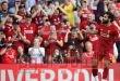 """ليفربول يحتفل بلقطات جديدة من """"الضربة المذهلة"""" لنجمه محمد صلاح"""