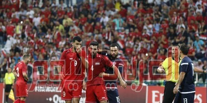 بعد الجولة الثالثة من التصفيات الآسيوية المشتركة :: * سوريا و العراق و قطر في صدارة مجموعاتها . * السوما ملك الهدافين .