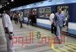 سقوط رافعة ونش على خط مترو بالقاهرة… والحادث يوقف الحركه بمحطتين