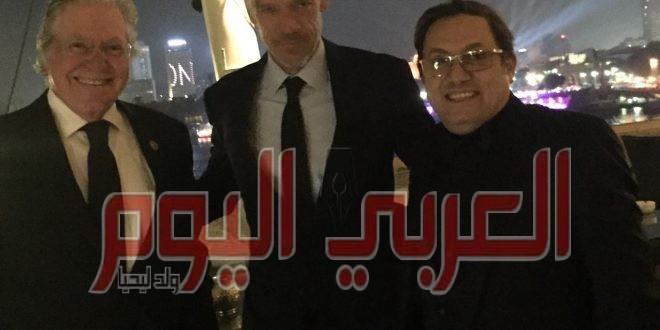 عادل عوض يشيد بافتتاح المهرجان ويضعه فى مصاف المهرجانات العالمية