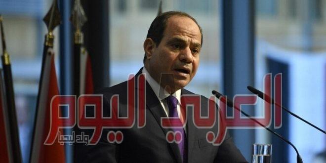 السيسي: الأزمة الليبية في الطريق لحل سلمي شامل خلال شهور