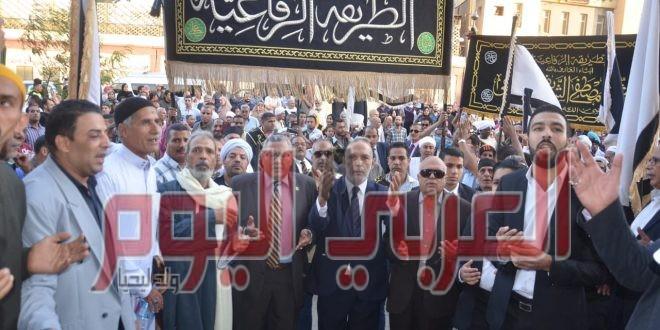 """أبناء الرفاعية يحتفلون بمولد """"أبوالعلا"""" و """"الحسين"""""""