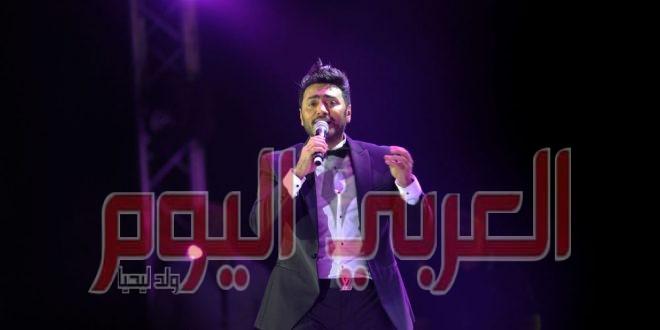 """بعد خسارتها في """"ذا فويس كيدز""""… تامر حسني يلتقي هايدي محمد"""