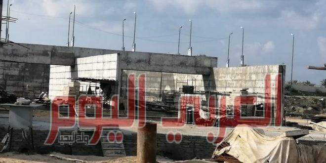 محافظ كفرالشيخ يتابع استكمال مشروع الصرف الصحي بمصيف بلطيم