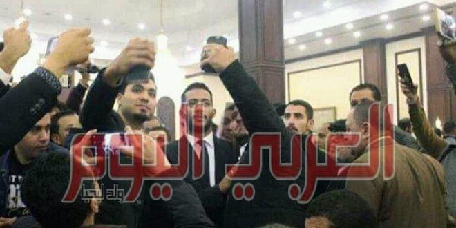 """الامن ل محمد رمضان : """"دا مش تصوير فيلم دا عزاء"""