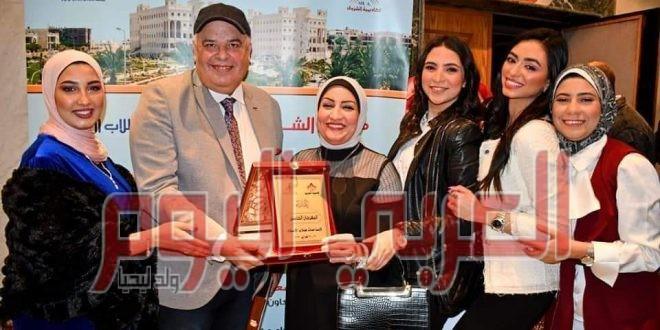 للعام الثاني على التوالي فوز المخرج سامح الشوادي بالمركز الاول في مهرجان ابداع لافلام الجامعات