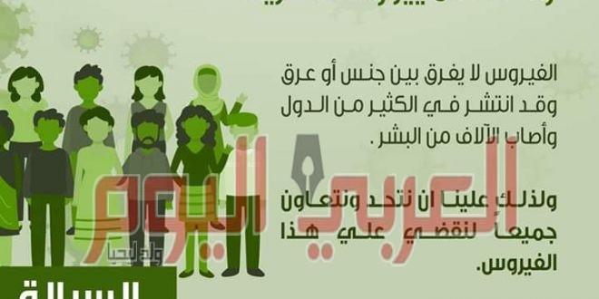 """""""الوطنية المصرية لليونسكو"""" تطلق 4 رسائل لمواجهة فيروس كورونا ومحاربة الشائعات"""