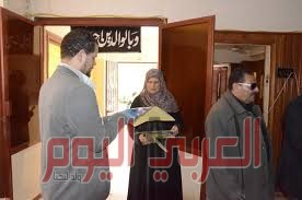 حملة لتطهير دور المسنين ضد كورونا بكفر الشيخ