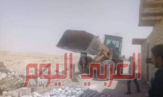 محافظ المنيا : استرداد 346 فداناً خلال حملات مكبرة بـ 3 مراكز