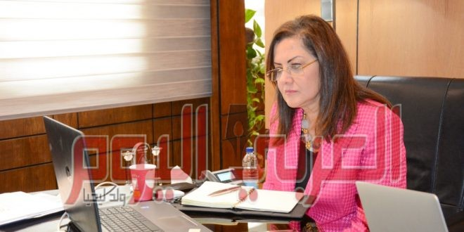 وزيرة التخطيط والتنمية الاقتصادية تشارك بالاجتماع الوزاري الأفريقي بشأن أزمة كورونا عبر الفيديو كونفرنس