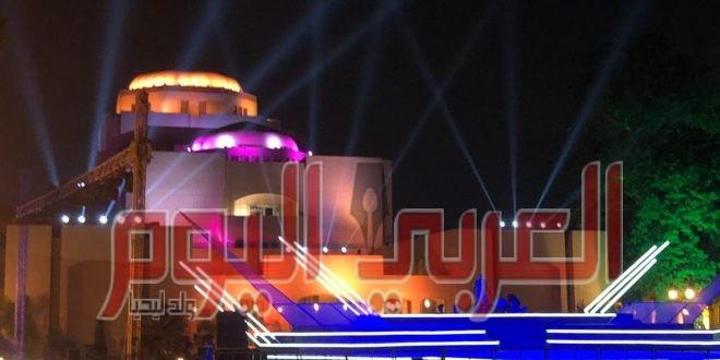حفلات الاوبرا على شاشة التليفزيون المصرى
