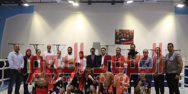 تدريب مشترك بين مصر واليمن في الكيك بوكسينج بالمركز الأوليمبي