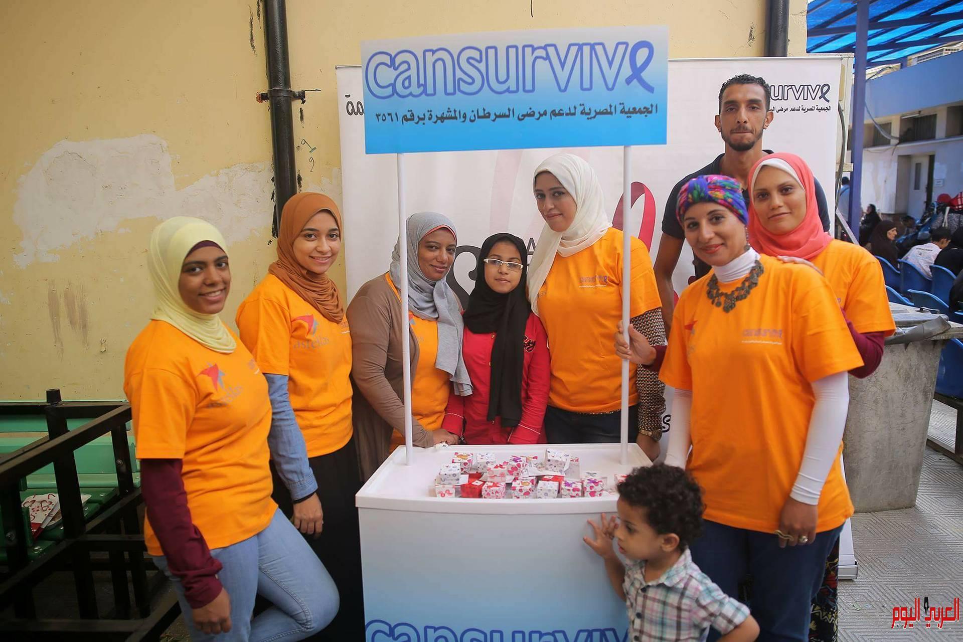 انطلاق فعاليات مبادرة الجمعية المصرية لدعم مرضي السرطان
