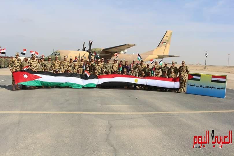 """عناصر من القوات المسلحة المصرية والأردنية ينفذان التدريب المشترك """" العقبة 3 """" …"""