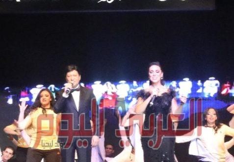 """نجوم الفن ورموز الثقافة يلتقون فى ليلة حب لرائد الاستعراضات الشعبية """"محمود رضا"""""""