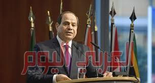 السيسي: يجب محاسبة الدول التي تتعمد خرق القانون الدولي