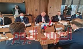 شكري يلتقي وزير الصناعة الروسي لمناقشة المنطقة الصناعية الروسية في السويس