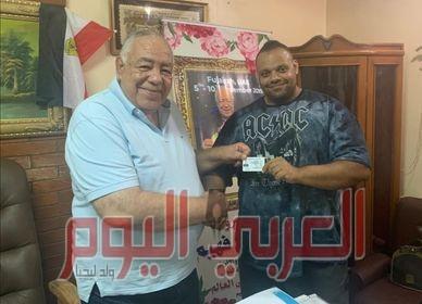 """""""بودي"""" مدرباً للمنتخب المصري لكمال الأجسام"""