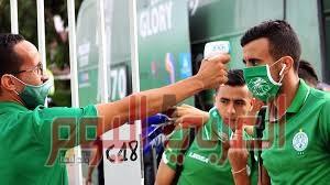 إصابة 8 لاعبين من الرجاء المغربي بفيروس كورونا قبل مواجهة الزمالك