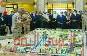 السيسي يفتتح بحضور أمير منطقة تبوك جامعة الملك سلمان الدولية بشرم الشيخ