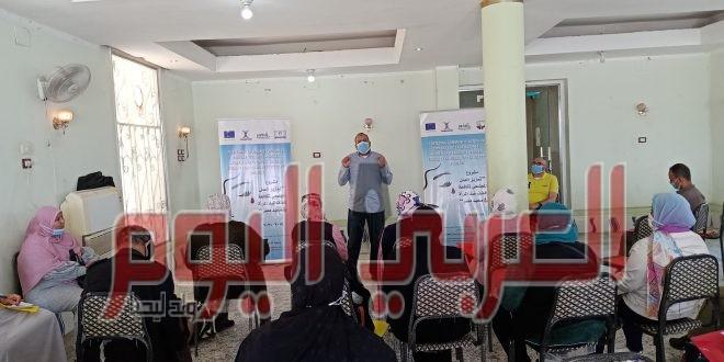 """""""جذور"""" تعقد حوار مجتمعي عن العنف ضد المرأة في صعيد مصر"""