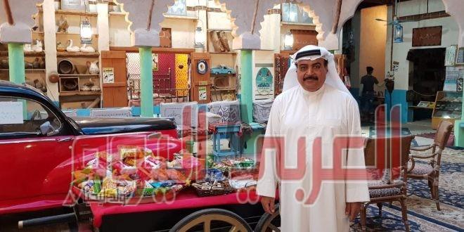 رئيس منتدى النورس الثقافي الدولي يزور متحف دار التراث ومركز النخلة