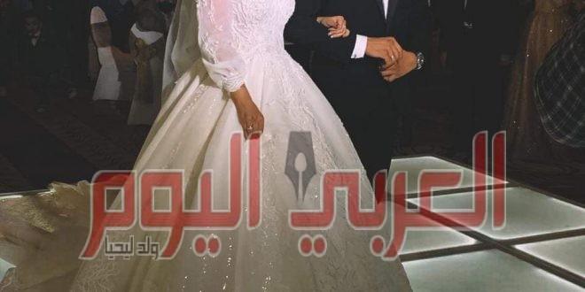 الف مبروك زفاف رنا وسعيد