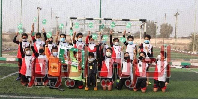 طلاب كلية الإعلام جامعة القاهرة يطلقون فعالية حادي _بادي ضمن فعاليات حملة Healthy 100%