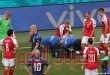 """إنعاش قلبي للدنمركي كريستيان إريكسن في """"يورو 2020"""" وإيقاف المباراة"""