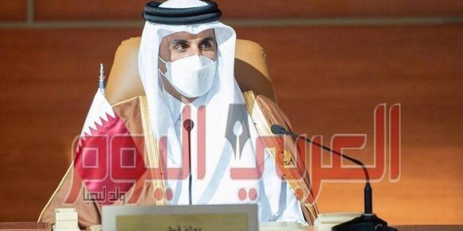 """أمير قطر يكتب """"تغريدة"""" بعد فوز فارس إبراهيم بأول ميدالية ذهبية أولمبية في تاريخ قطر"""