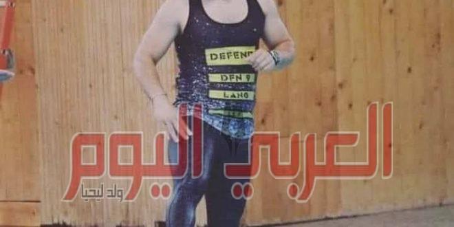 مصرع السباح العالمي محمود العبيدي غرقا