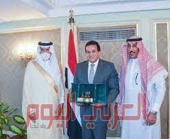 وزير التعليم العالي المصري يكرم الملحق الثقافي بسفارة السعودية بالقاهرة