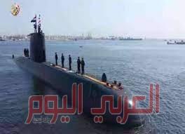 الجيش المصري يعلن وصول الغواصة (S-44) وأنضمامها الي قواته المسلحة
