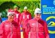 مصر تتصدر منافسات السباحة لتتابع الفرق للشابات ببطولة العالم للخماسي