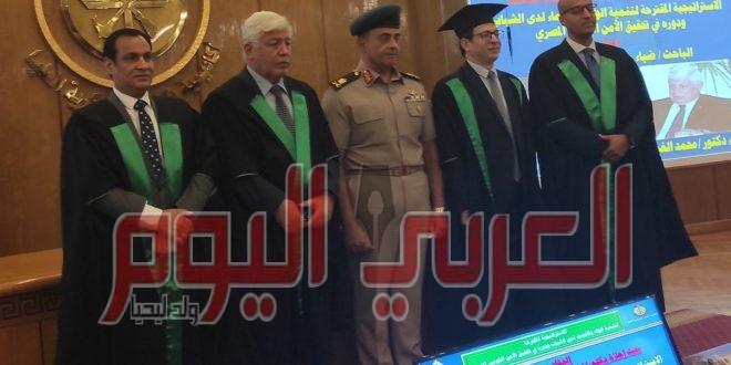 رسالة دكتوراه حول تنمية الولاء والانتماء لدى الشباب بأكاديمية ناصر
