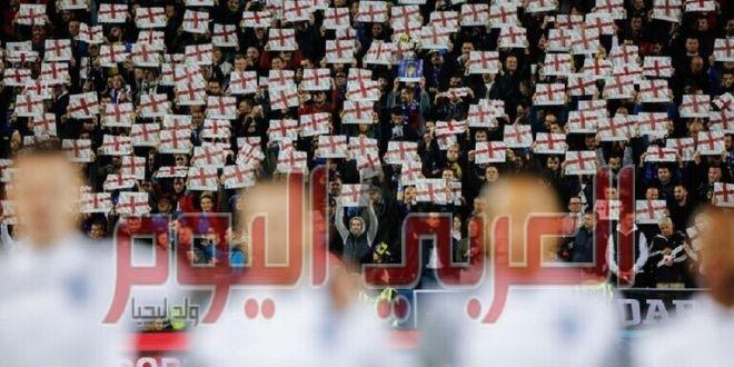 """""""اليويفا"""" يعاقب المنتخب الإنجليزي بسبب فوضى ملعب ويمبلي خلال نهائي أمم أوروبا"""