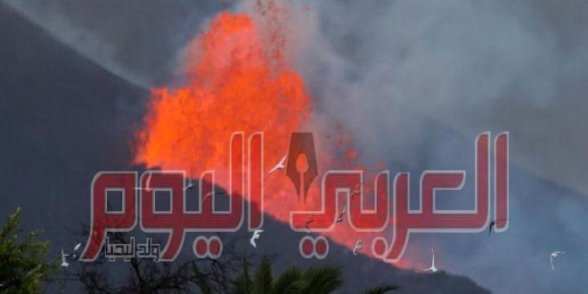 عالم جيولوجيا يتوقع وصول غازات بركان لابالما الي مصر خلال ساعات